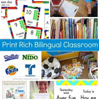 Print Rich Environment Bilingual- Kid World Citizen