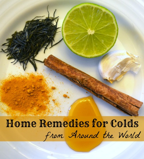 Home Remedies for Colds Gathered from Around the World