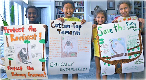 Endangered Species Project- Kid World Citizen