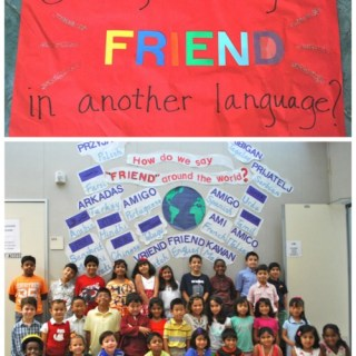 "Global Bulletin Board Ideas: ""How to Say Friend in Any Language"""