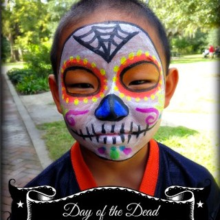 Day of the Dead Face Paint!