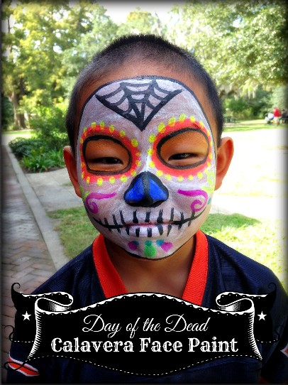 Day of the Dead Face Paint- Kid World Citizen