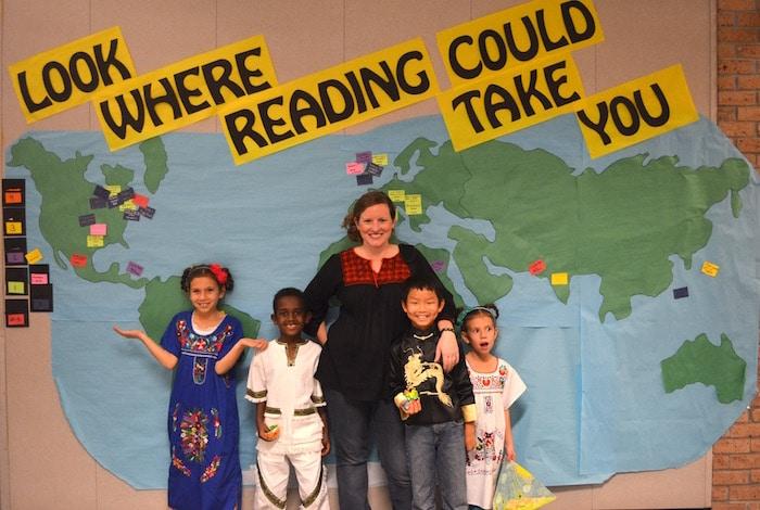 Map the Settings Bulletin Board Ideas- Kid World Citizen