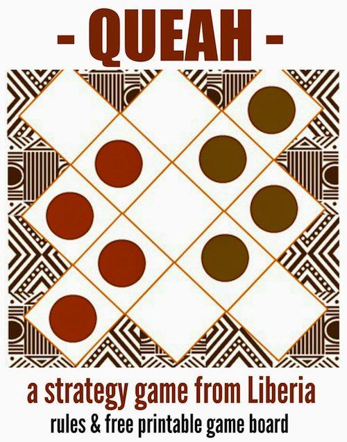 Queah Liberian Game- Kid World Citizen
