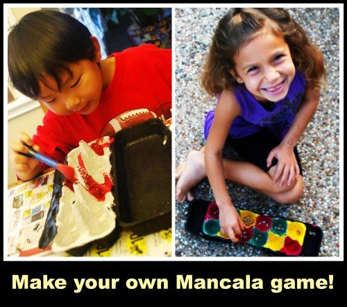 Make Mancala Game- Kid World Citizen