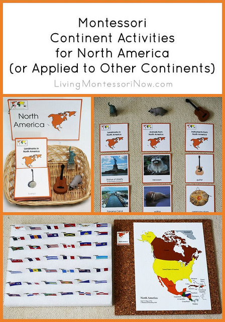 Montessori Geography Continent Boxes Activities- Kid World Citizen