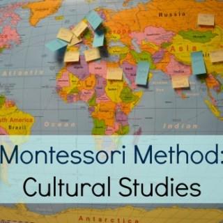 Montessori Method Cultural Studies- Kid World Citizen