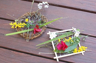 Nature Weaving Looms Kids Projects- Kid World Citizen