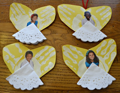 Angel Ornaments Kid Made- Kid World Citizen