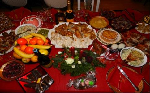 Food Christmas in Georgia- Kid World Citizen