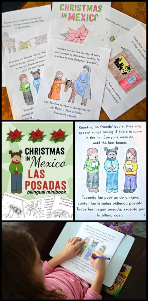 las posadas bilingual minibook- Kid World Citizen