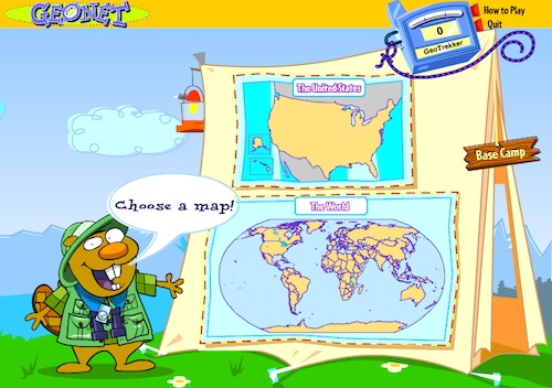 Kids Geo Online Geography Game- Kid World Citizen