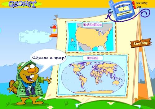 Kids Geo Online Geography Game- Kid World Citizen