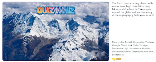 Online Geography Games for Kids- Kid World Citizen