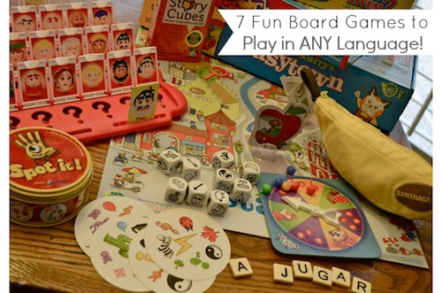 Board Games Language Learning- Kid World Citizen