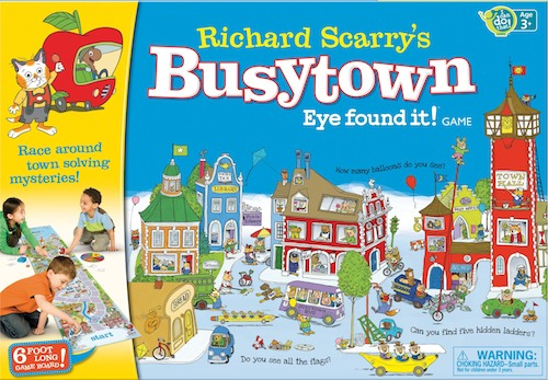 Busytown Board Game- Kid World Citizen