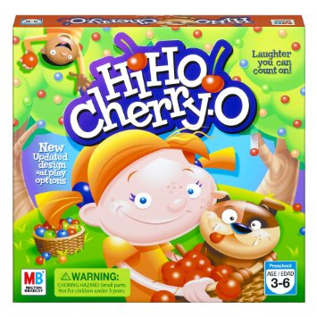 Hi Ho Cherry O Board Games Language Learning- Kid World Citizen