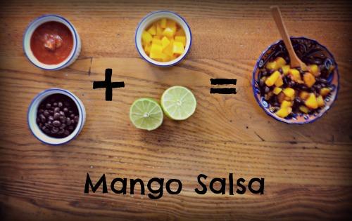 Easy Mango Salsa- Kid World Citizen