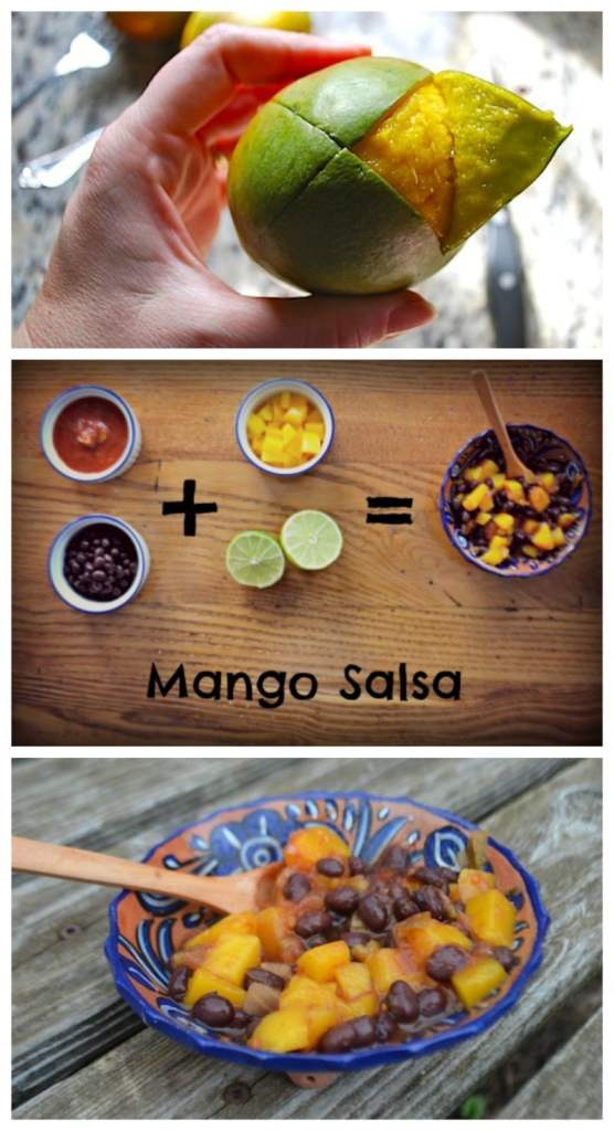 Easy Mango Salsa Recipe- Kid World Citizen