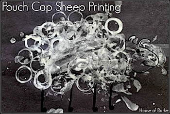Pouch Cap Sheep Craft- Kid World Citizen