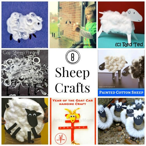 Sheep Crafts For Chinese New Year Easter Spring Or Eid
