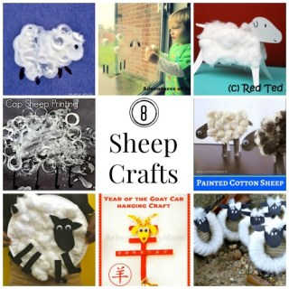 Sheep Crafts for Chinese New Year!