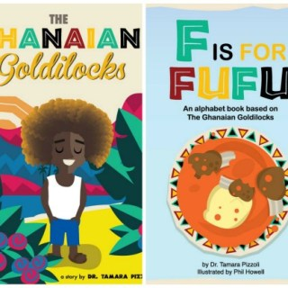 Ghanaian Goldilocks- Kid World Citizen