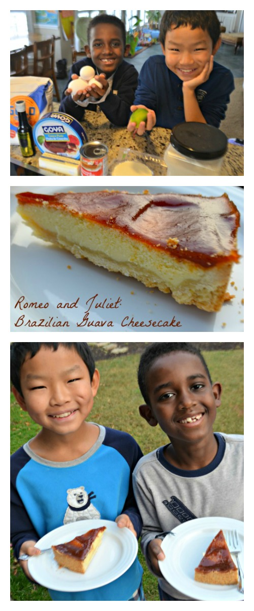 Kids Kitchen Guava Cheesecake Brazil- Kid World Citizen