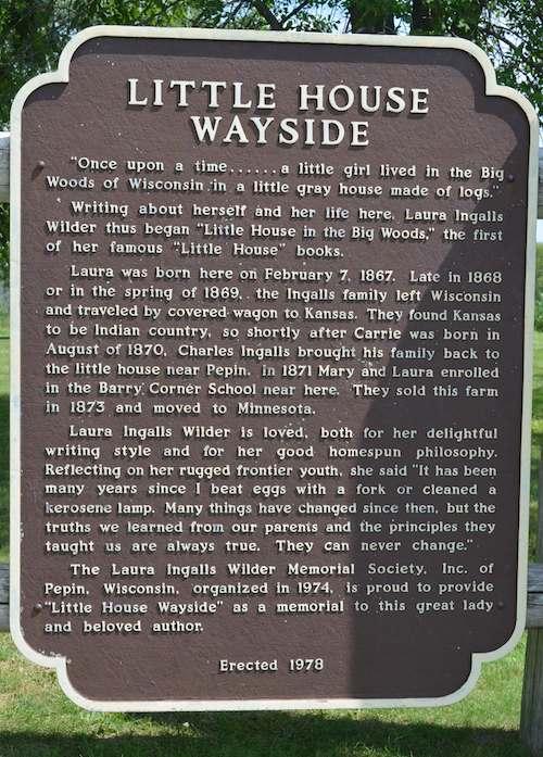 Laura Ingalls Wilder Museum Pepin Wisconsin- Kid World Citizen