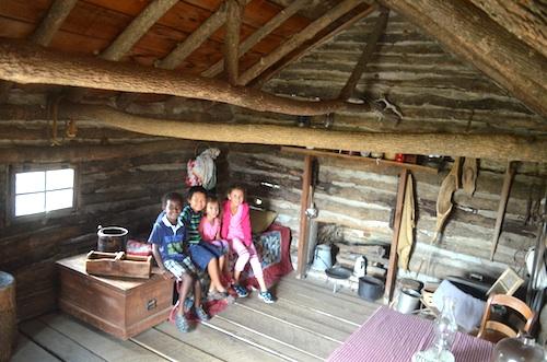 Little House on the Prairie Cabin Kansas- Kid World Citizen