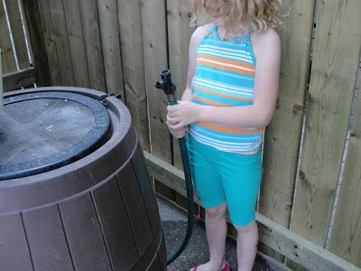 Rain Barrel Water Conservation Kids- Kid World Citizen