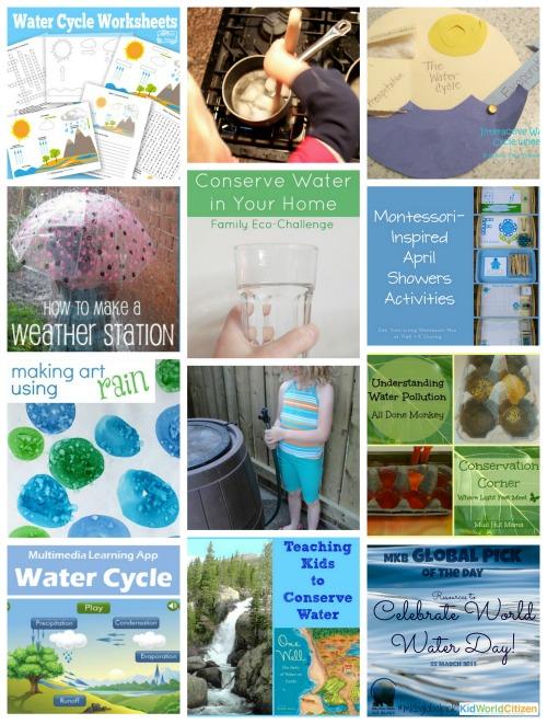 Water Activites for Kids- Kid World Citizen