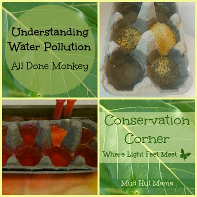 Water Pollution for Kids A_Science_Experiment Mud Hut Mama- Kid World CItizen