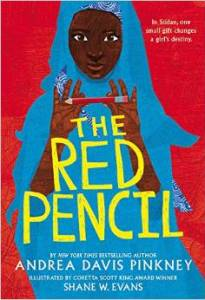The Red Pencil Girls In School- Kid World Citizen