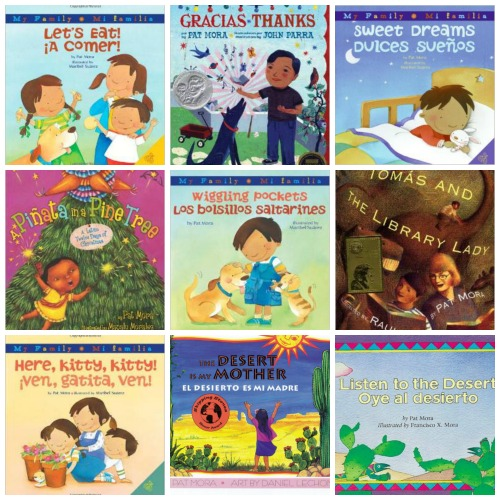Pat Mora Bilingual Books for Children- Kid World Citizen