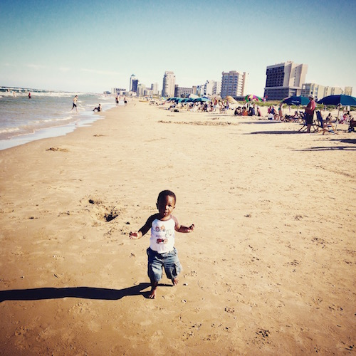 Beach South Padre Island Family Camping- Kid World Citizen