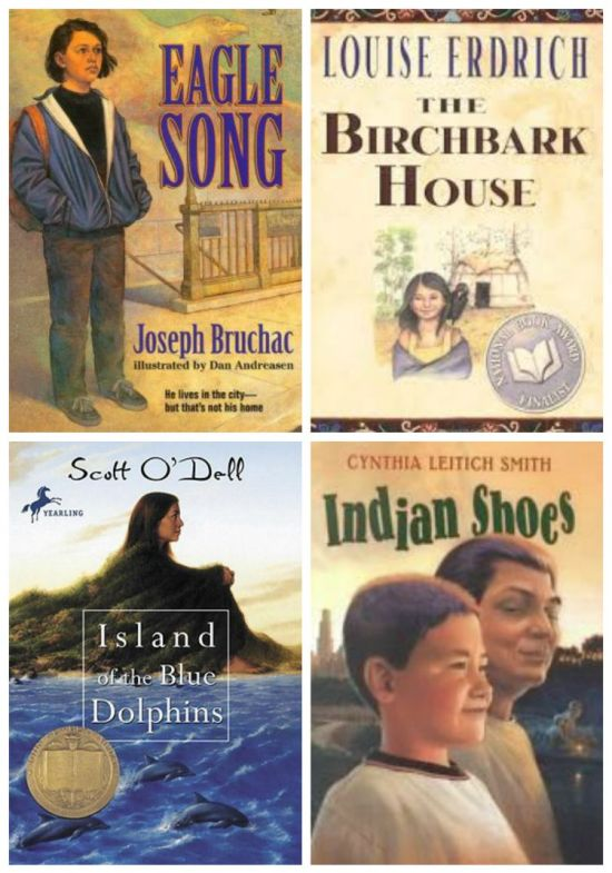 American Indian Chapter Books- Kid World Citizen
