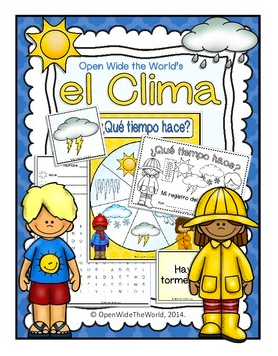 El Clima Spanish Giveaway- Kid World Citizen