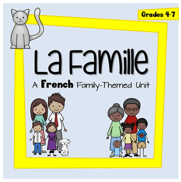 French Family Unit Giveaway- Kid World Citizen