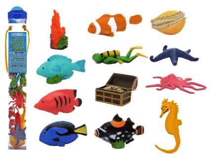 Coral Reefs Toob Animals Sea Creatures- Kid World Citizen