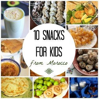 10 Moroccan Snacks to Make with your Kids