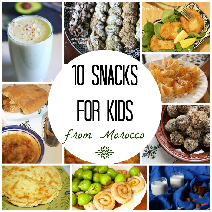 Moroccan Snacks for Kids- Kid World Citizen