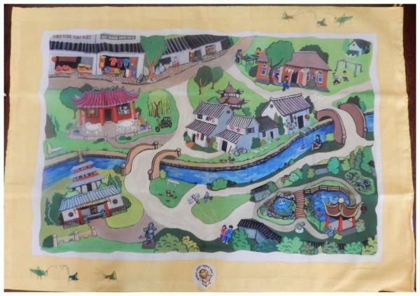 Chinese Toys Platmat- Kid World Citizen
