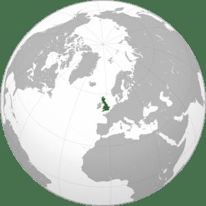 Great Britain Map- Kid World Citizen