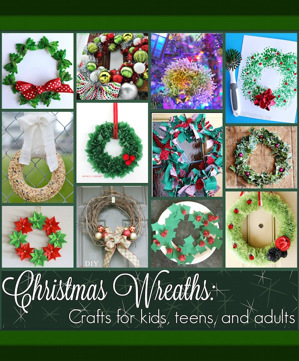Christmas Wreath Projects For Kids Teens And Adults