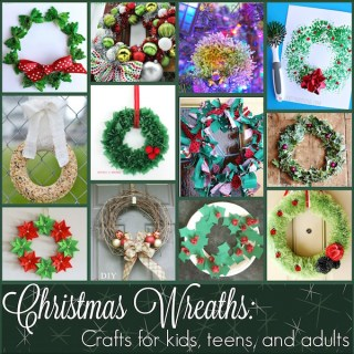 Origin of Wreaths and 10+ Christmas Wreath Projects for Kids, Teens, and Adults