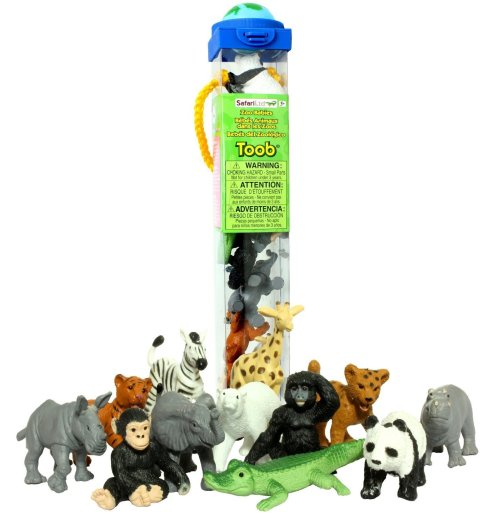 Animal Tube Stocking Stuffers Travel- Kid World Citizen