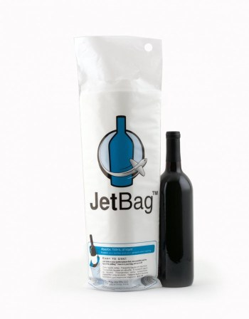Jet Padded Wine Bag travel Stocking Stuffers- Kid World Citizen
