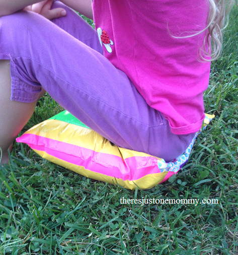 One Plastic Bag Sit Upon Recycled Craft- Kid World Citizen