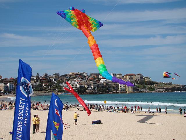 Kites Around the World Bondi Beach Australia- Kid World Citizen